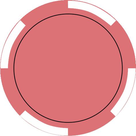 4-Spot rosa