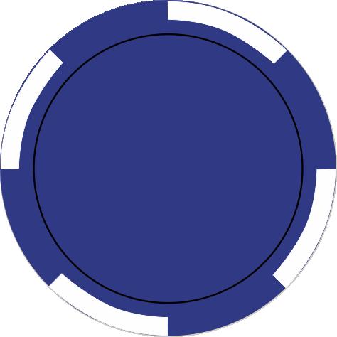 4-Spot dunkelblau