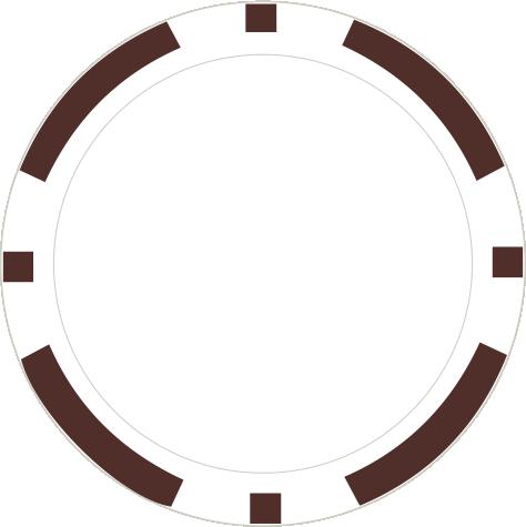 8-Stripe braun