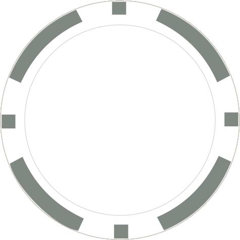 8-Stripe grau