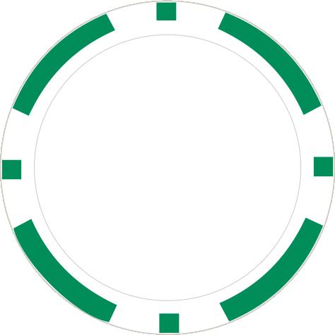 8-Stripe Grün