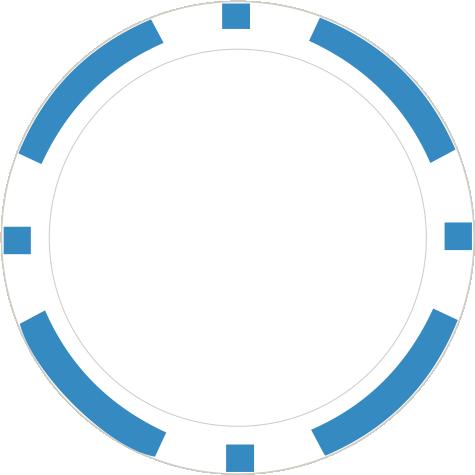 8-Stripe Hellblau