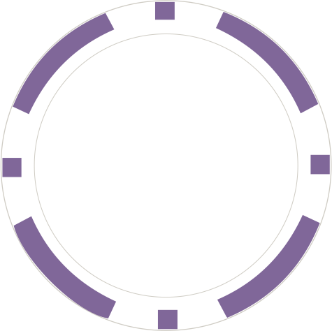 8-Stripe Lila