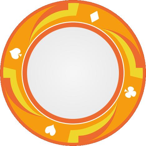 SPIN Vorlage Orange